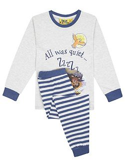 Kids Gruffalos Child All Was Quiet Pyjamas