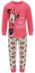 Fabric Flavours Girls Minnie Mouse Pyjamas