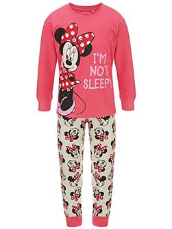 Girls Minnie Mouse Pyjamas