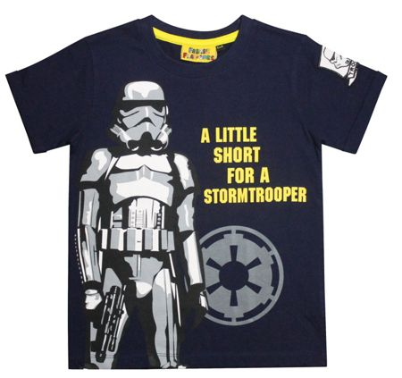 Fabric Flavours Boys Stormtrooper T-Shirt