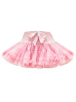 Girl`s Light Pink Rara Skirt