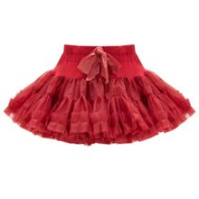 Girls Red Rara Skirt