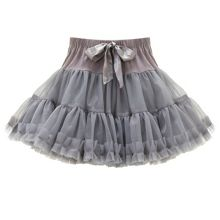 Fabric Flavours Girls Grey Rara Skirt