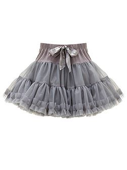 Girls Grey Rara Skirt