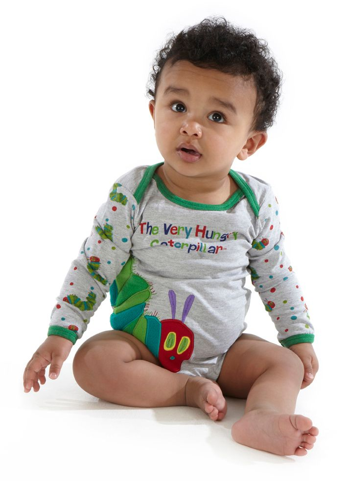 Kid`s The Very Hungry Caterpillar fleece babygrow