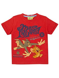 Boys Tom and Jerry Mouse Trapped T-Shirt
