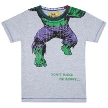 Fabric Flavours Boys Headless Hulk T-Shirt