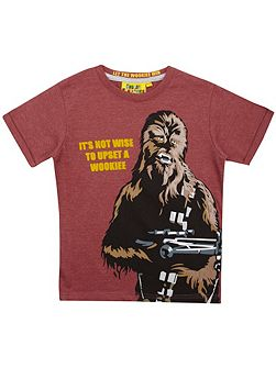 Boys Star Wars Chewbacca T-shirt