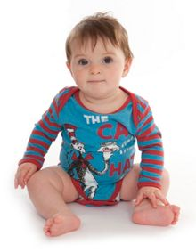 Kids Cat In The Hat babygrow