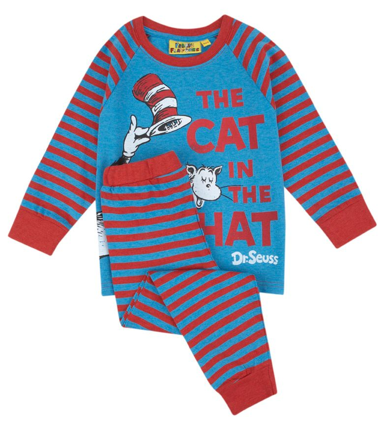 Kid`s Cat In The Hat Pyjamas
