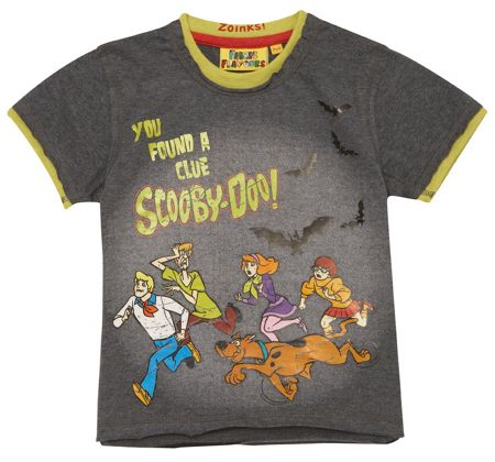 Fabric Flavours Boys Scooby Doo You Found A Clue t-shirt