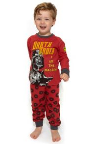 Fabric Flavours Boys Star Wars Darth Vader Pyjamas