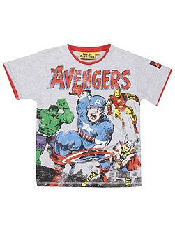 Fabric Flavours Boys Avengers T-Shirt