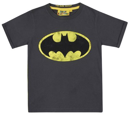 Fabric Flavours Kids Batman T-Shirt & Box Gift