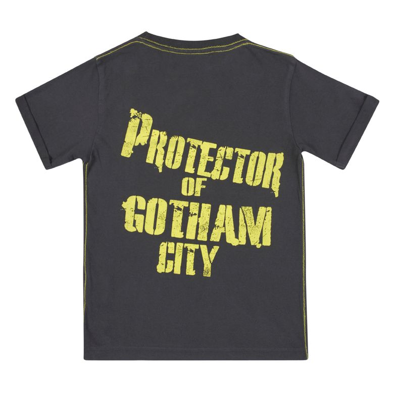 Kid`s Batman Logo Vintage Wash T-Shirt & Box Gift