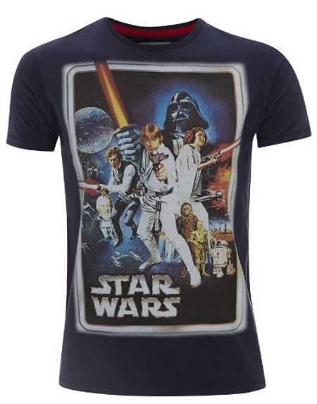Fabric Flavours Men`s star wars t-shirt gift set