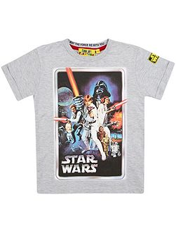 Boys Star Wars T-Shirt & Box Gift Set