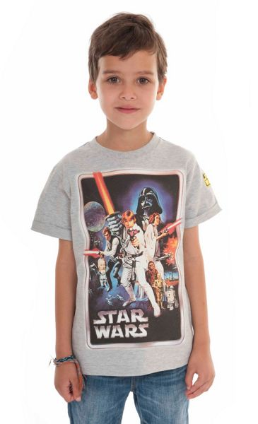 Fabric Flavours Boys Star Wars T-Shirt & Box Gift Set