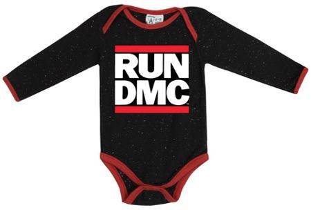 Amplified Kids Babies Run DMC Speckle Babygrow