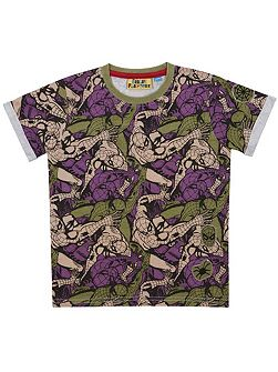 Boys Spider-Man Camo T-Shirt