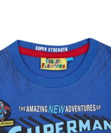 Fabric Flavours Boys Amazing Superman T-Shirt