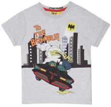 Fabric Flavours Boys batman batmobile t-shirt