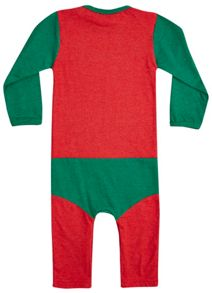 Boys Robin Supersuit Babygrow
