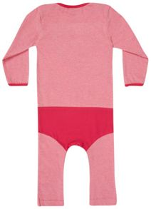 Girls Supergirl `Super Suit` Babygrow