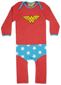 Fabric Flavours Girls Wonder Woman `Supersuit` Bodysuit