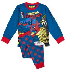Boys spider-man comic pyjamas