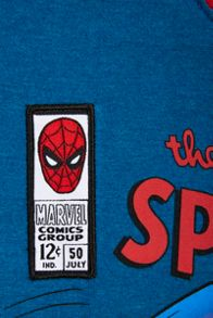 Fabric Flavours Boys spider-man comic pyjamas
