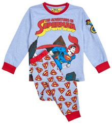Boys superman comic pyjamas