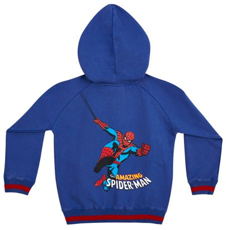 Fabric Flavours Boys Spiderman Hoody