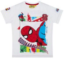 Fabric Flavours Boys Spider-Man Football T-Shirt