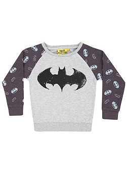 Girls batman sweatshirt