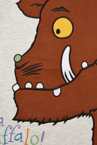 Fabric Flavours Boys Gruffalo Spike Long Sleeve T-Shirt