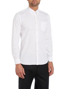 Grierson rolled button down collar oxford shirt