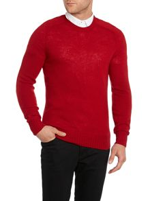 Wilk lambswool crew neck jumper