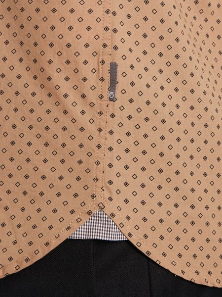 Peter Werth Seagrave box print shirt