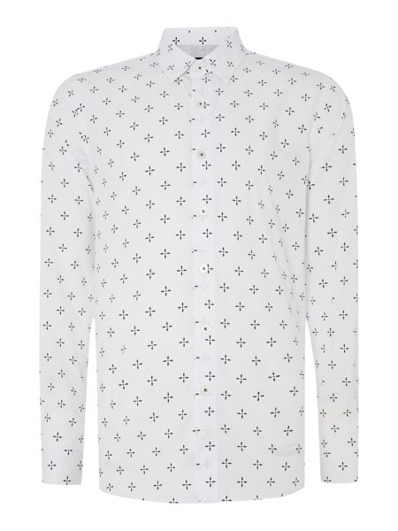 Peter Werth Keller propeller print shirt