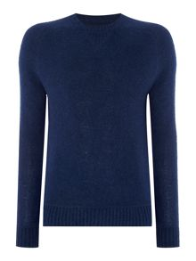 Peter Werth Copen brushed wool knitted sweat jumper