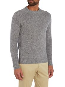 Copen brushed wool knitted sweat jumper