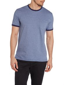 Heath Stripe Crew Neck Slim Fit T-Shirt
