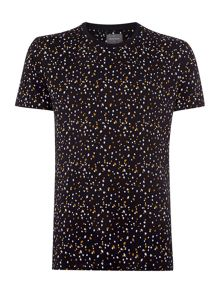 Peter Werth Milner Floral Crew Neck Slim Fit T-Shirt