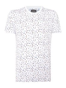Milner Floral Crew Neck Slim Fit T-Shirt