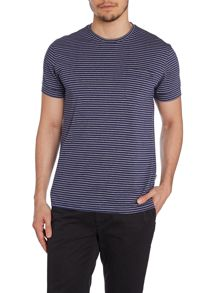 Lazo Stripe Crew Neck Slim Fit T-Shirt