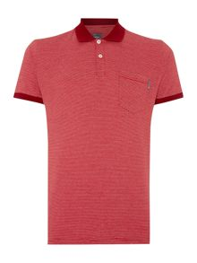 Peter Werth Orwell Stripe Slim Fit Polo Shirt
