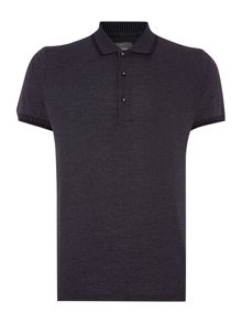 Peter Werth Walter Micro V Stitch Polo Shirt