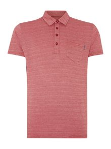 Peter Werth Jacob Check Slim Fit Polo Shirt