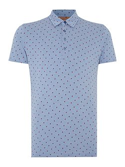 Ronson Pattern Slim Fit Polo Shirt
